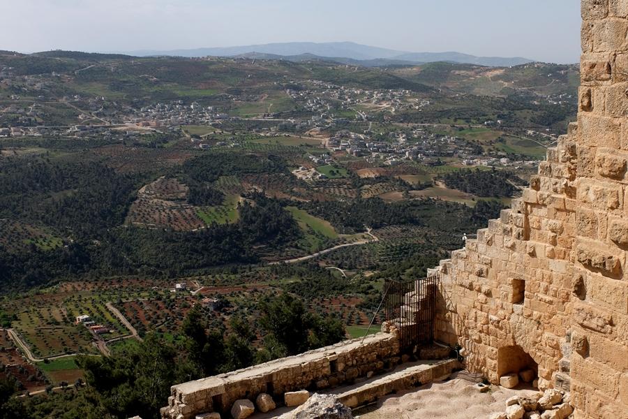 zamek Ajloun w Jordanii