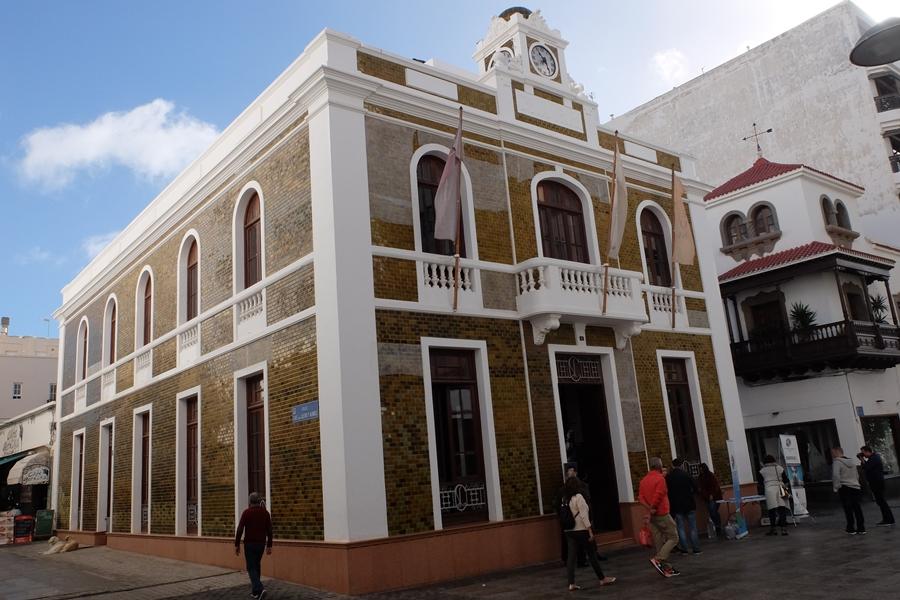 La Casa Amarilla w Arrecife, Lanzarote
