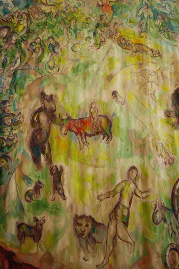 Marc Chagall, gobelin, Kneset, parlament izraelski