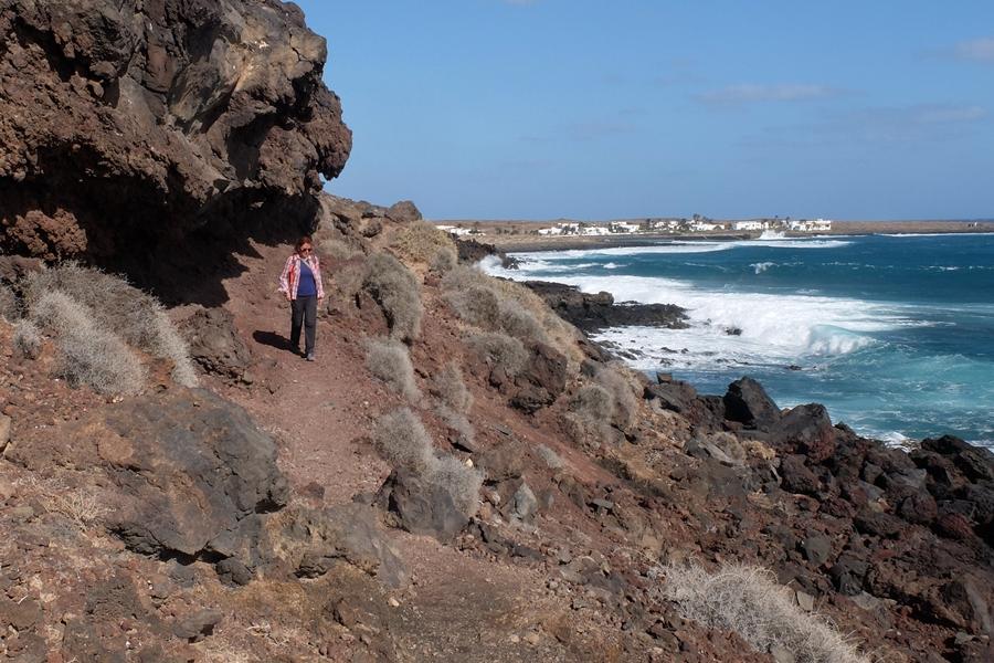 La Graciosa, klify, szlaki na wyspie