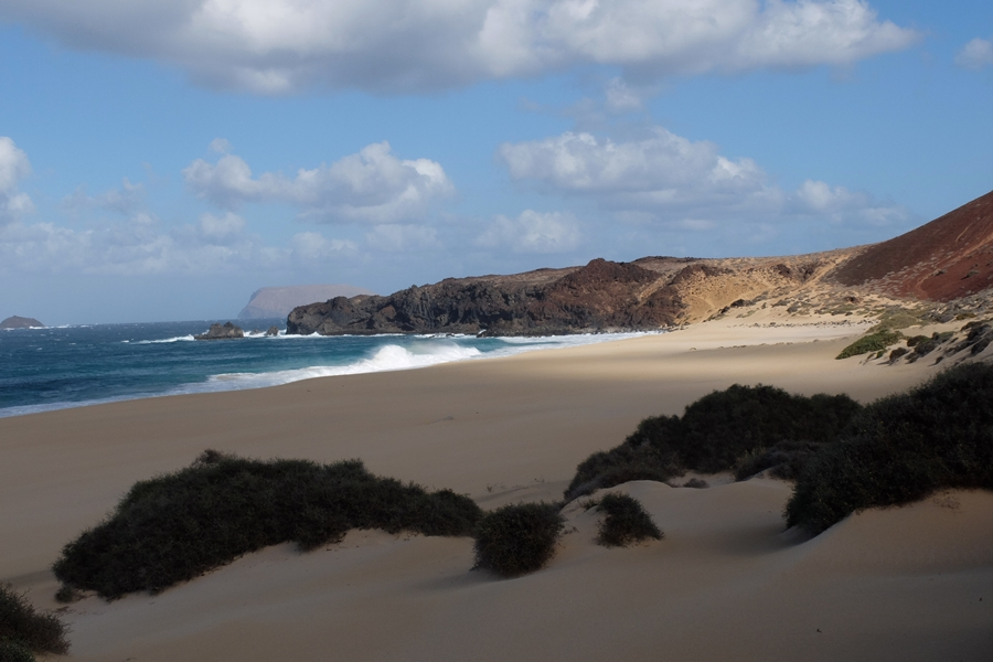 playa de Las Conchas, La Graciosa