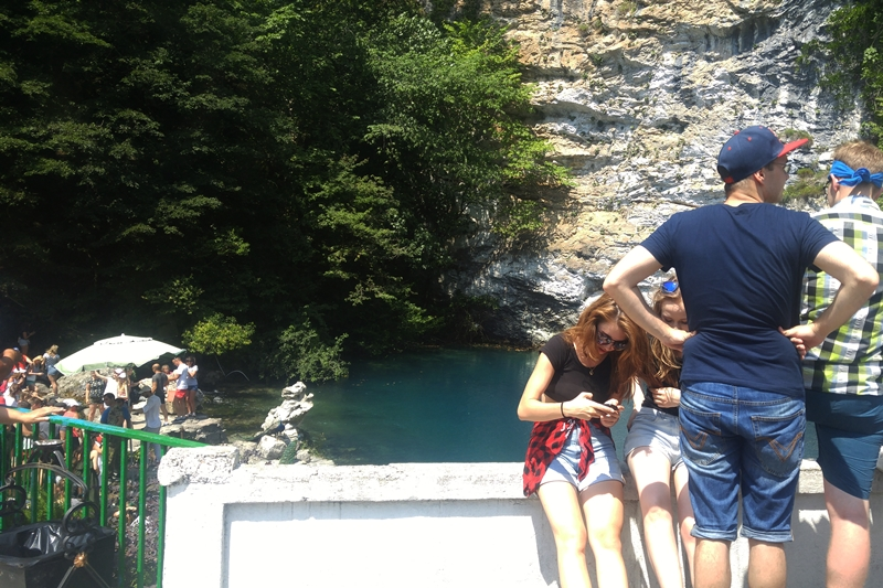 Abchazja, Błękitne Jezioro