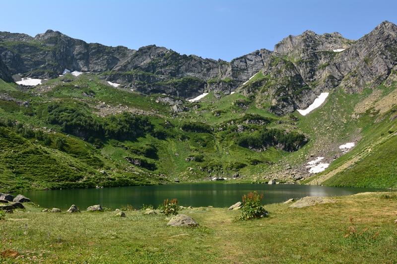 szlak nad Jezioro Mzy, Kaukaz, Abchazja