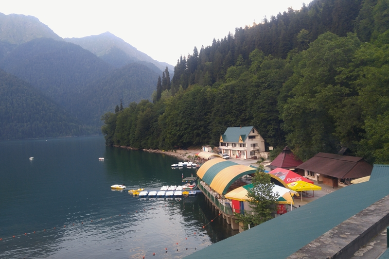JEzioro Rica, Kaukaz, Abchazja, atrakcje