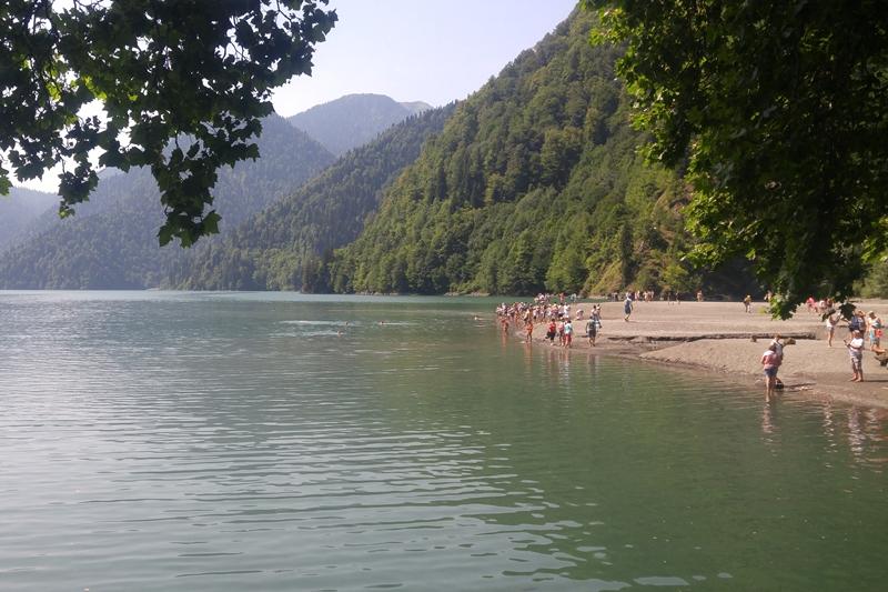 озеро Рица, Абхазия Abchazja