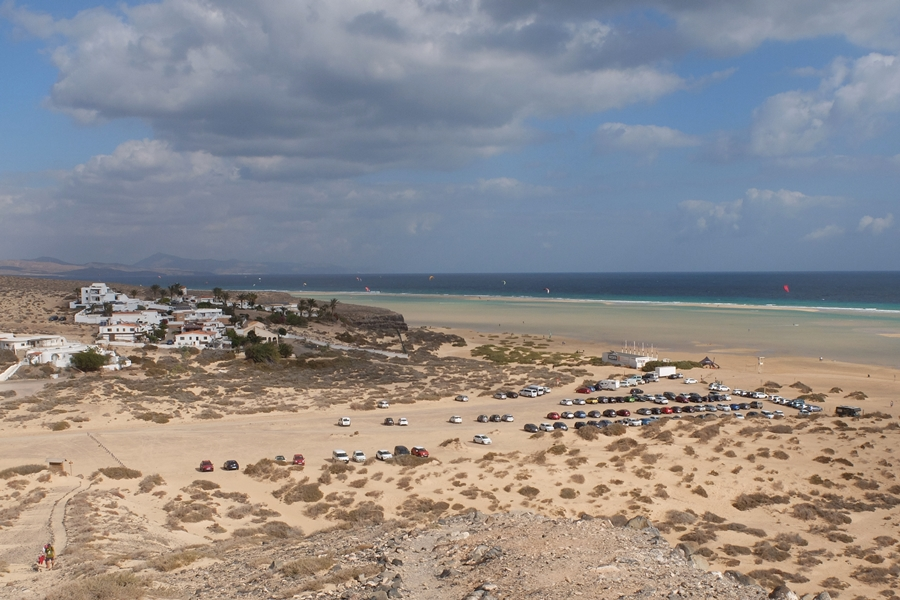 Fuerteventura, plaża Sotavento