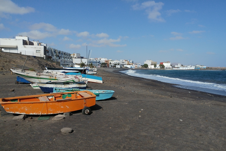 Puerto Lajas, plaża, Fuerteventura