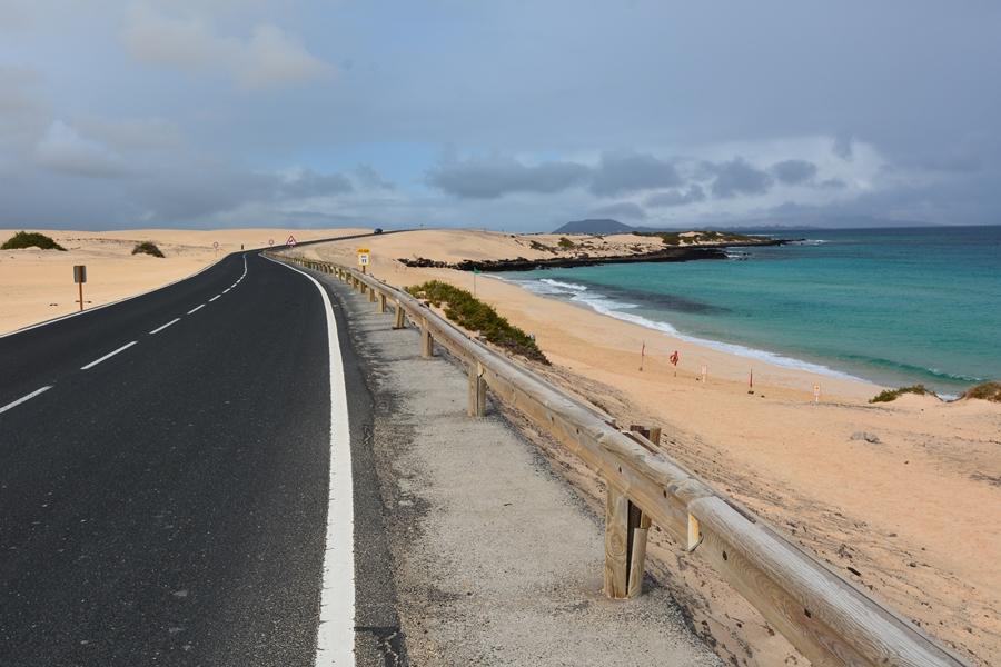 Fuerteventura plaże Corralejo