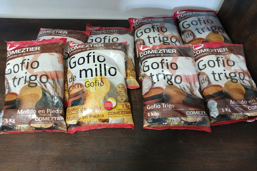 gofio, mąka, Fuerteventura