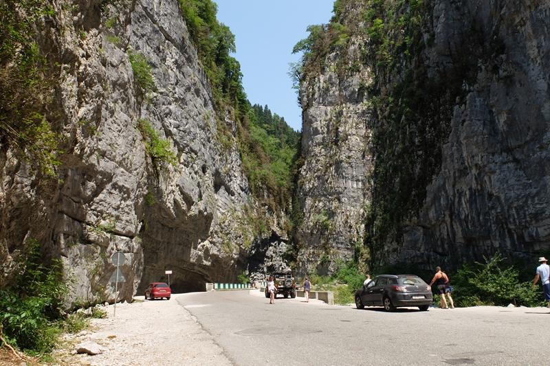 Jupszarski Kanion, Kaukaz, Abchazja