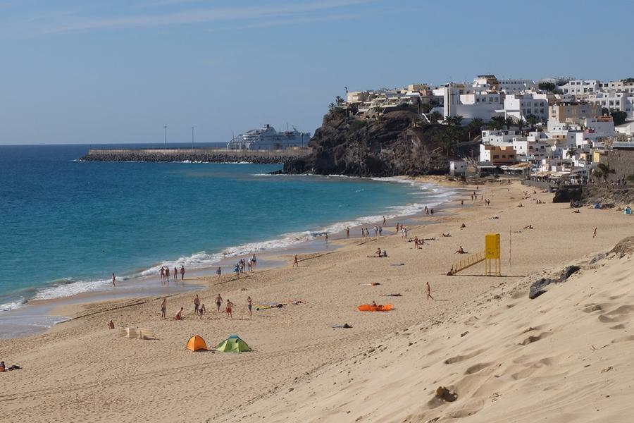 Fuerteventura, plaże Morro Jable