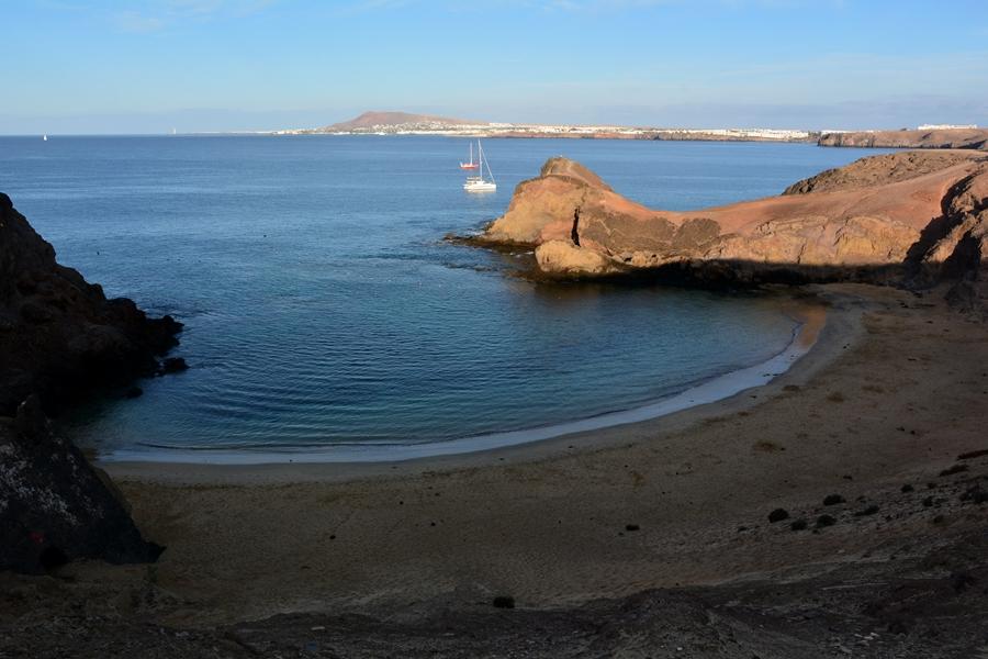 plaża Papagaya Lanzarote