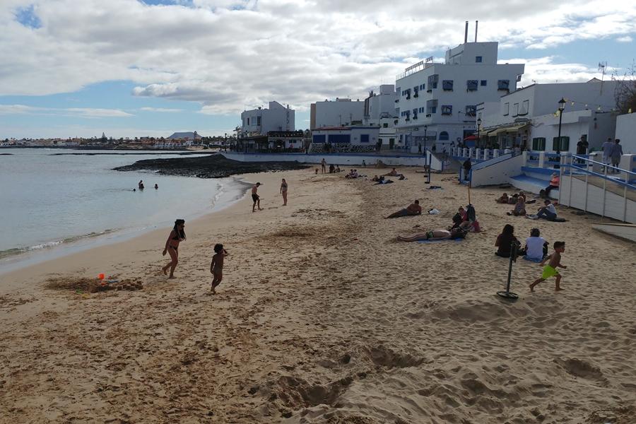 Fuerteventura, plaża w Corralejo