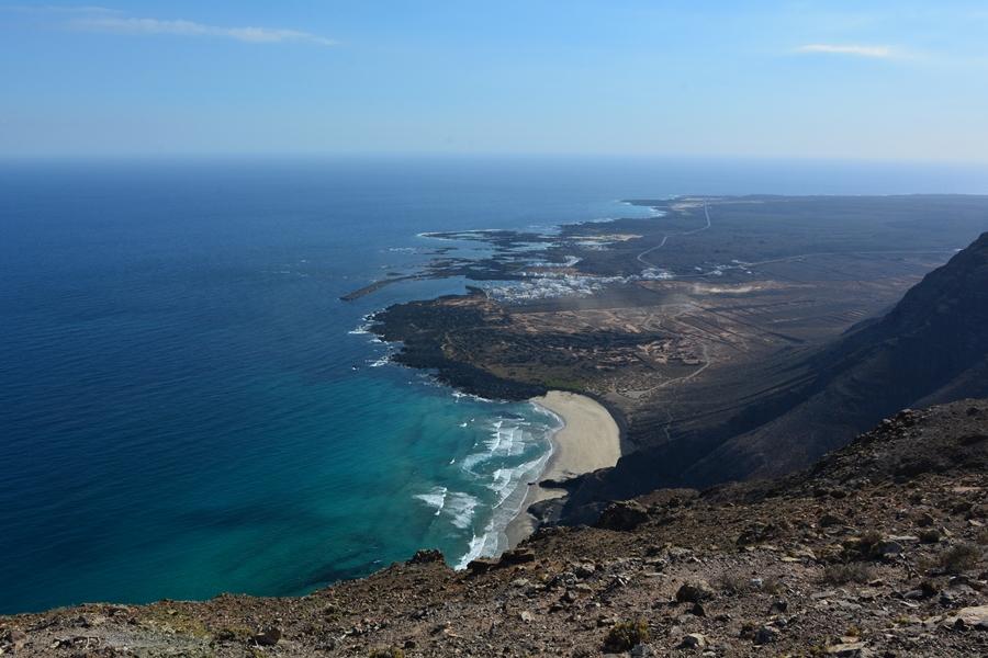 playa de la canteria Orzola Lanzarote