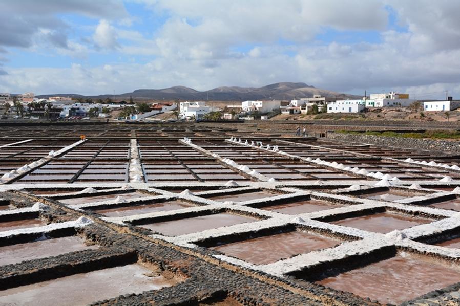 Fuerteventura, saliny, Salinas del Carmen