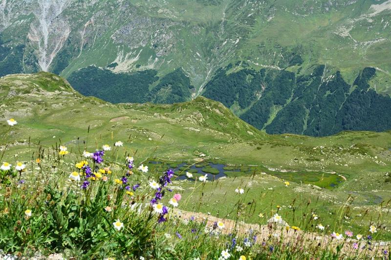 góry Kaukaz, szlaki, Abchazja