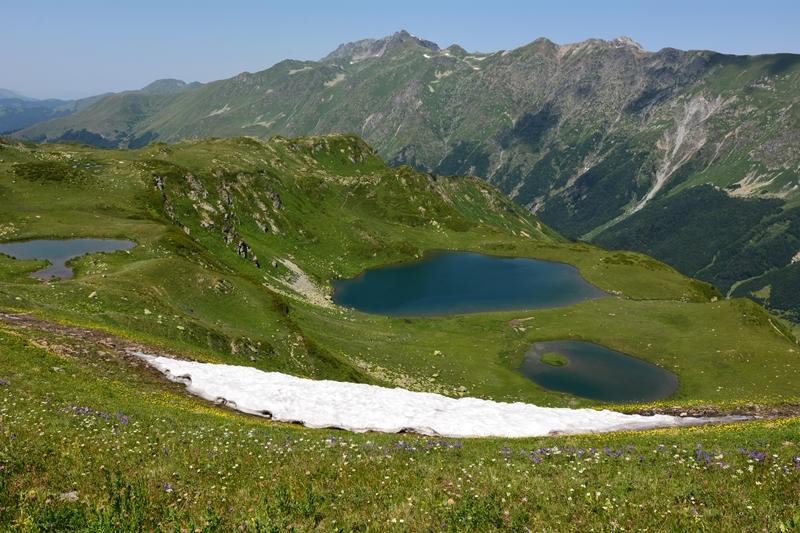 Abchazja, Dolina Siedmiu Jezior, Kaukaz, szlaki górskie
