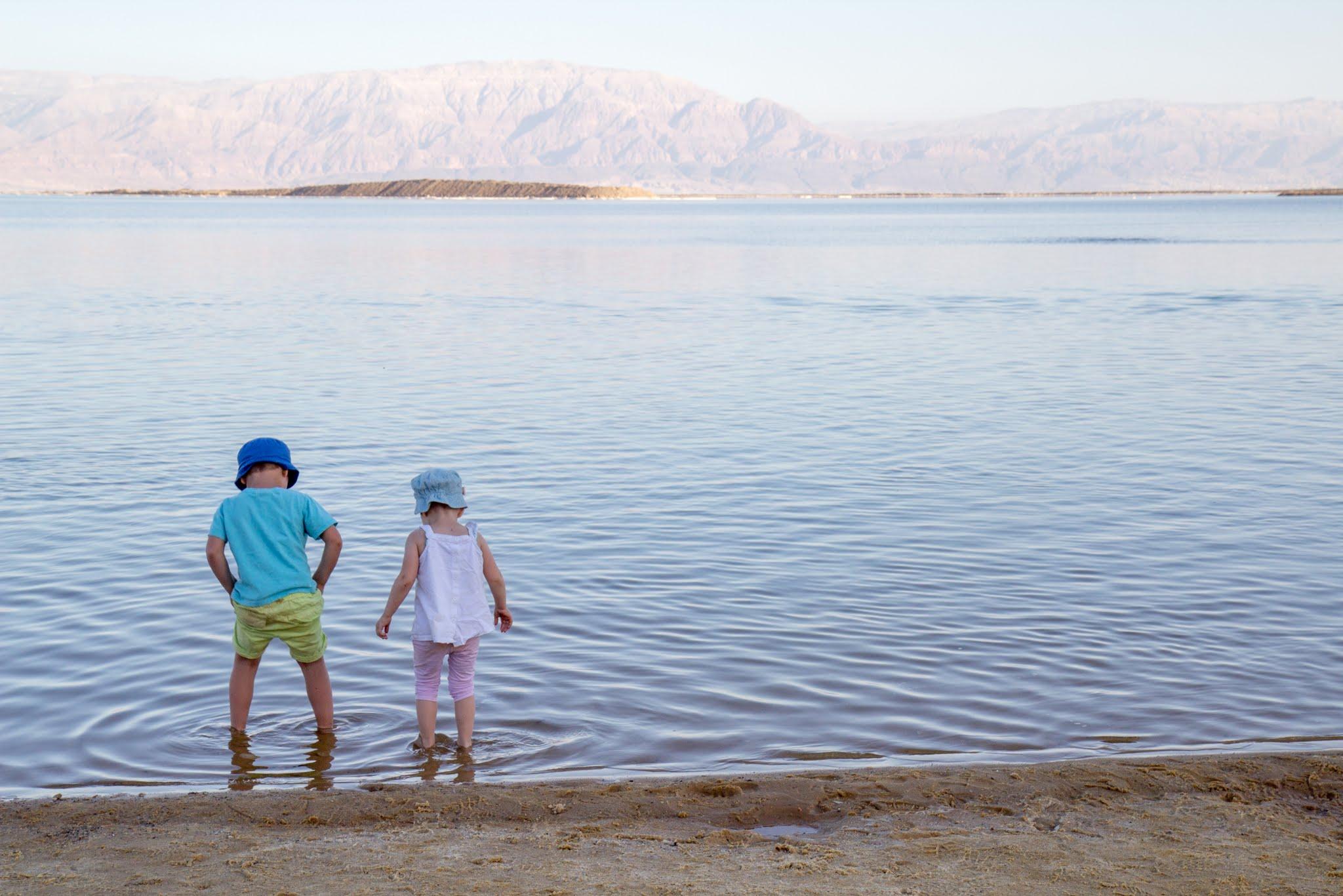 Morze Martwe, Izrael z dziećmi, atrakcje dla dzieci w Izraelu