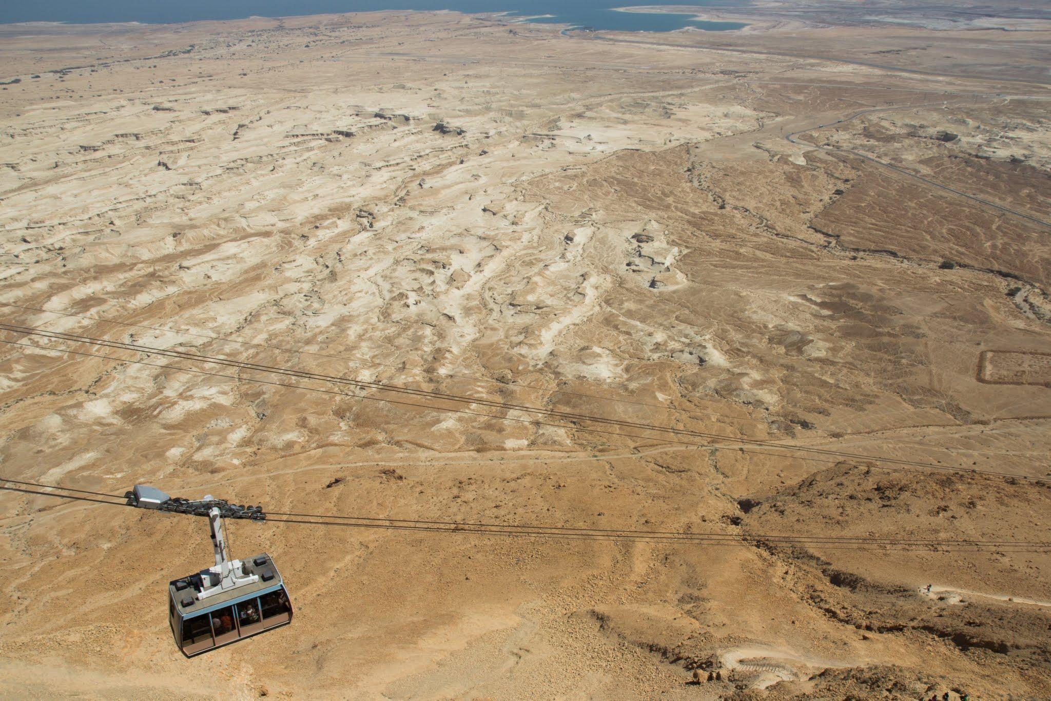 Twierdza Masada, Izrael, atrakcje na pustyni