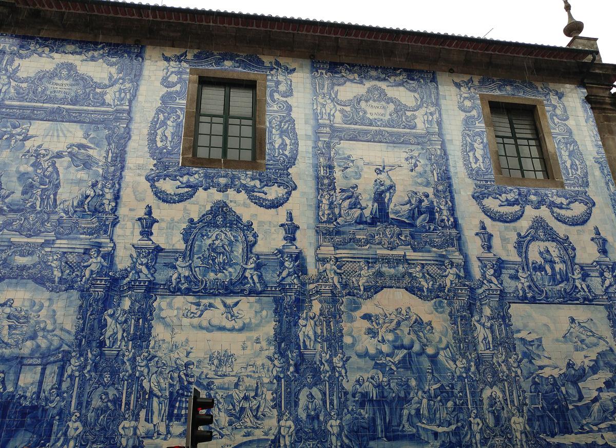 Kaplica Dusz w Porto, azulejos