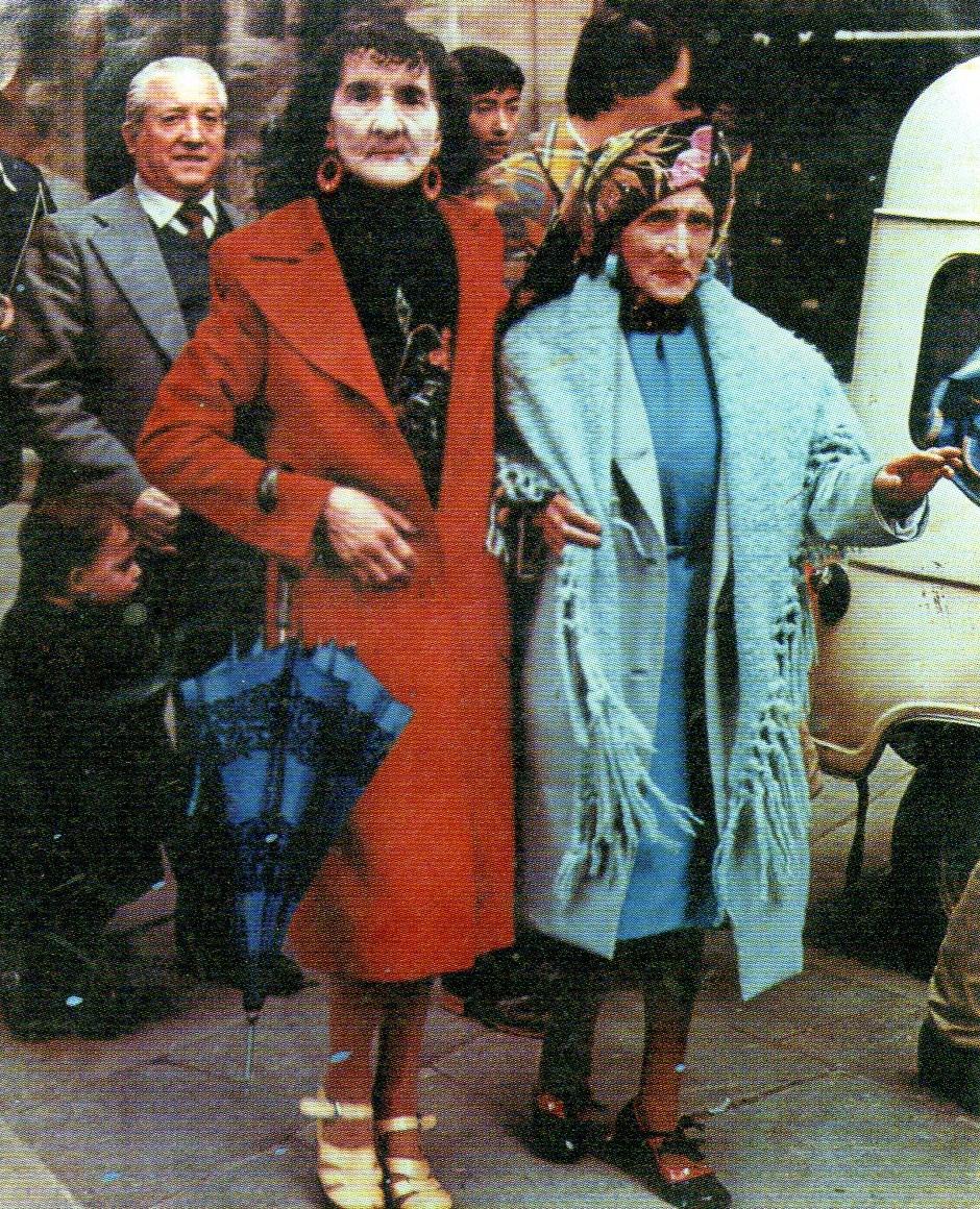 dwie Marie z Alamedy - As duas MArias - pomnik Santiago de Compostela