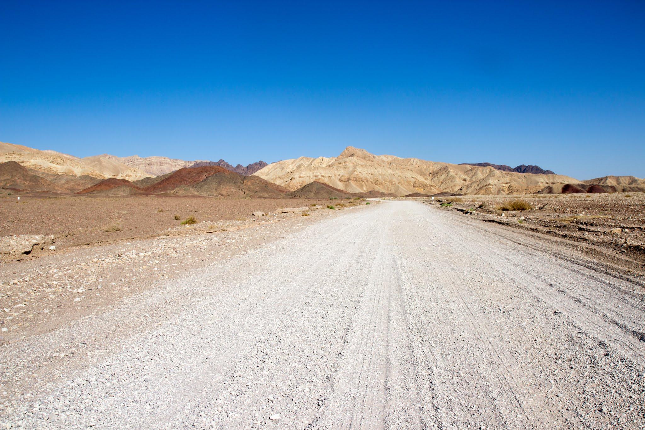 szlaki pustyni Negew, kolumny Amrama