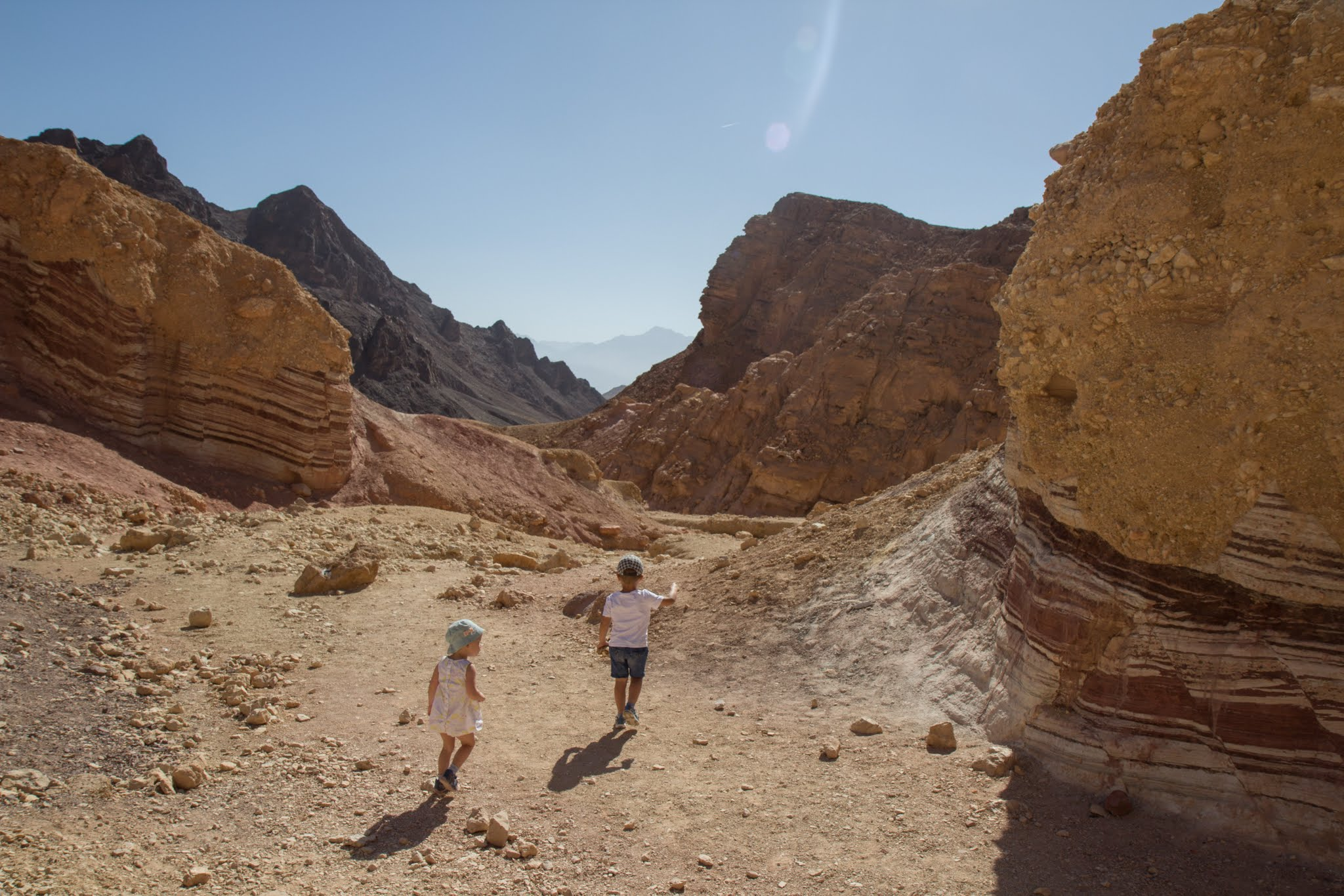 Izrael z dzieckiem, szlaki na pustyni Negew