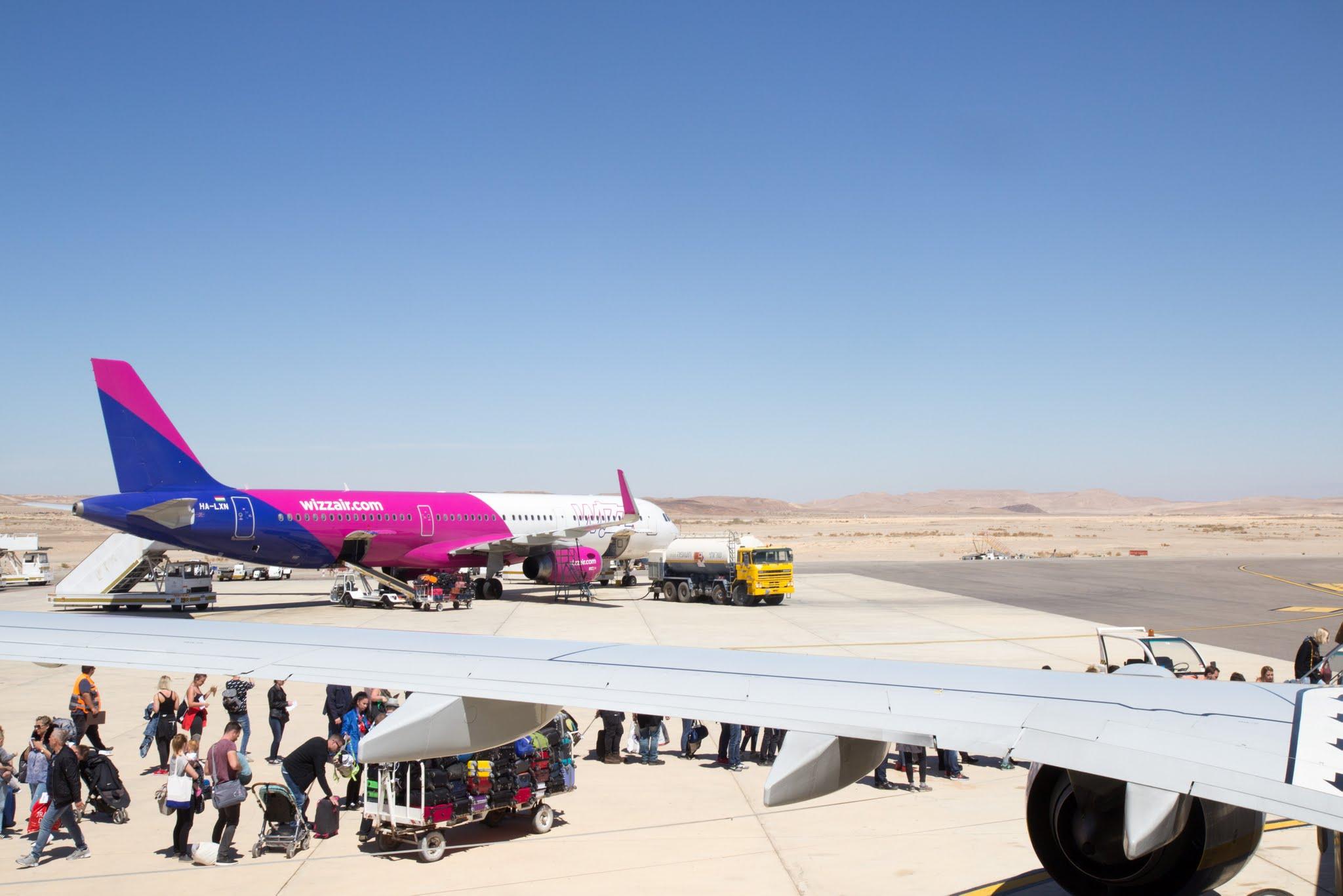 lotnisko Eilat Ovda, Izrael