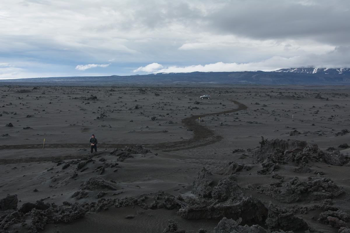 Holuhraun, pole lawowe, Islandia