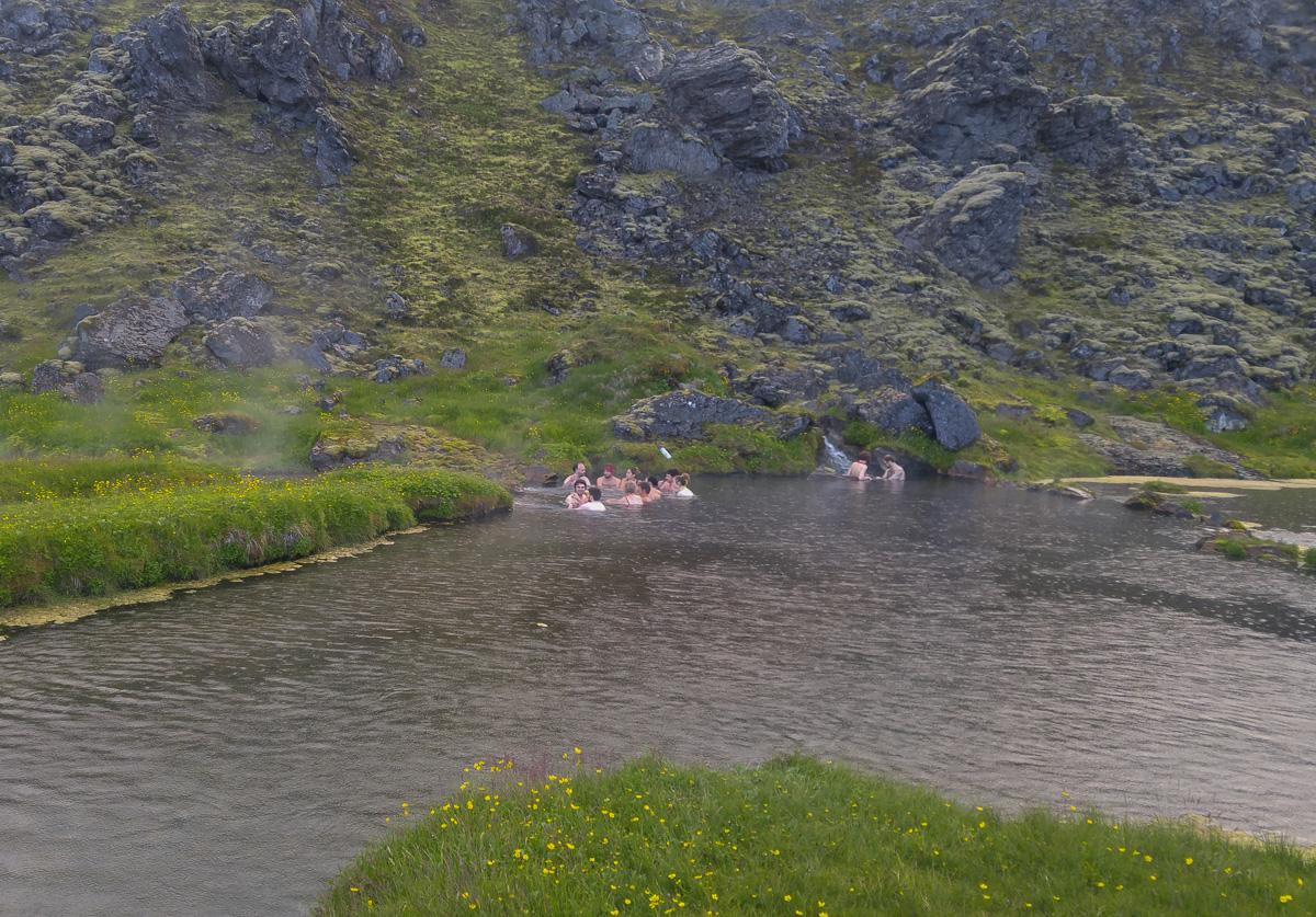 Brennisteinsalda Bathing Place, Islandia