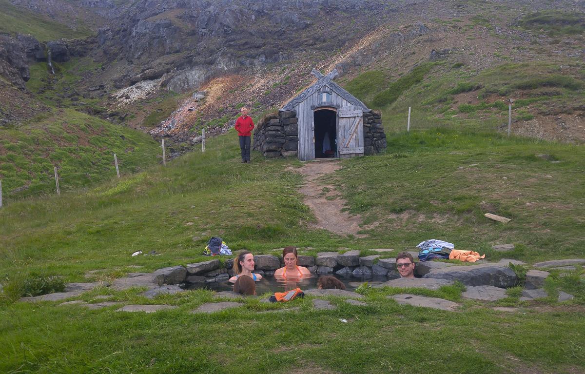 Guðrúnarlaug, Islandia gorące źródła