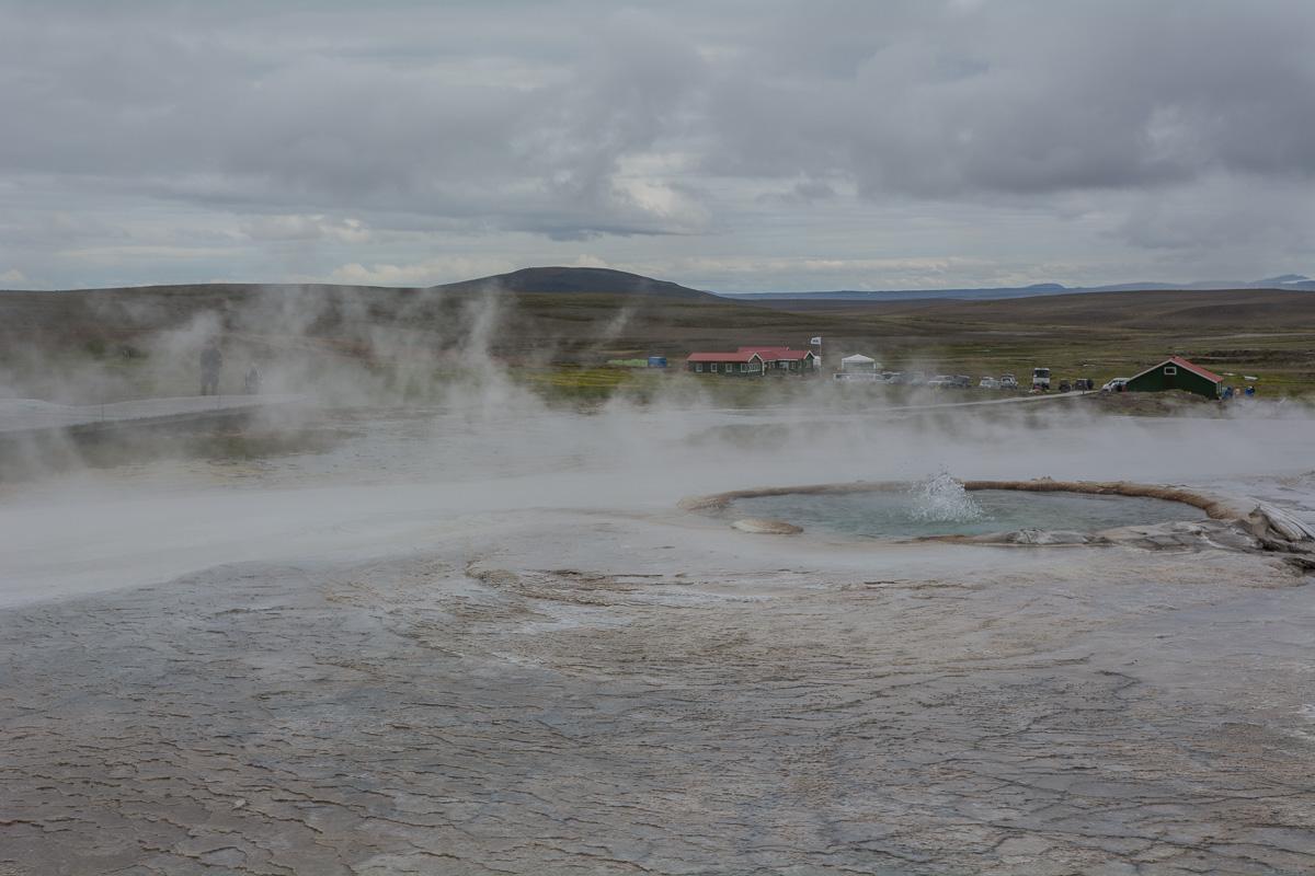 Hveravellir, Islandia gorące źródła