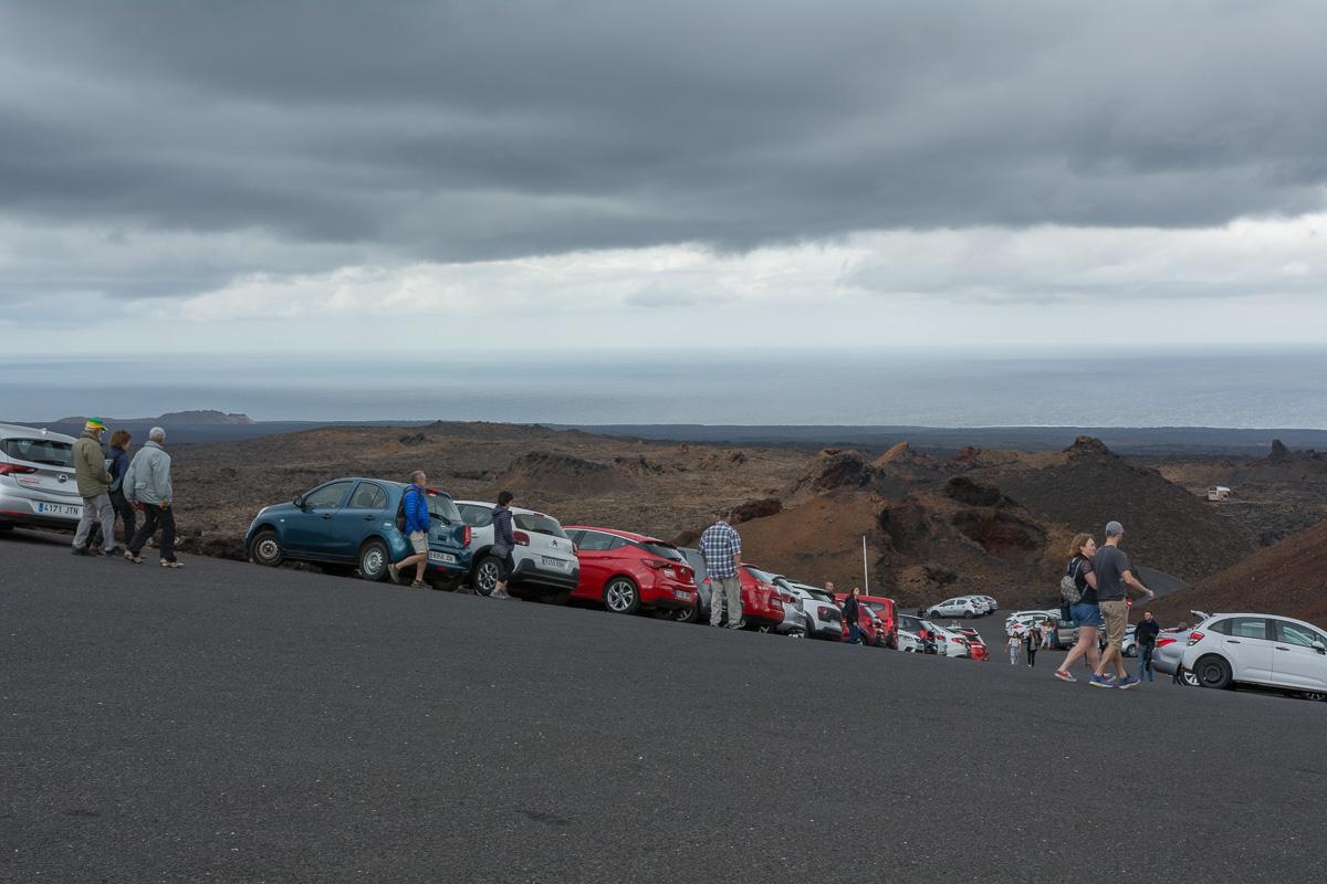 Lanzarote, Timanfaya Park, Ruta de los Volcanes