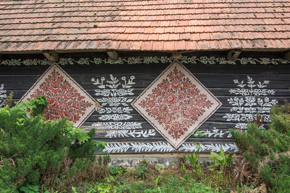 Zalipie, malowane chałupy