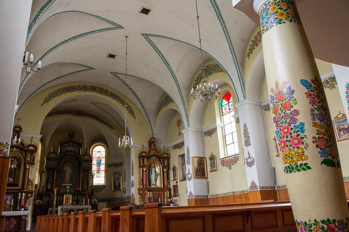 malowany kościół Józefa w Zalipiu
