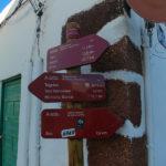 Wyspy Kanaryjskie, oznakowanie szlaków