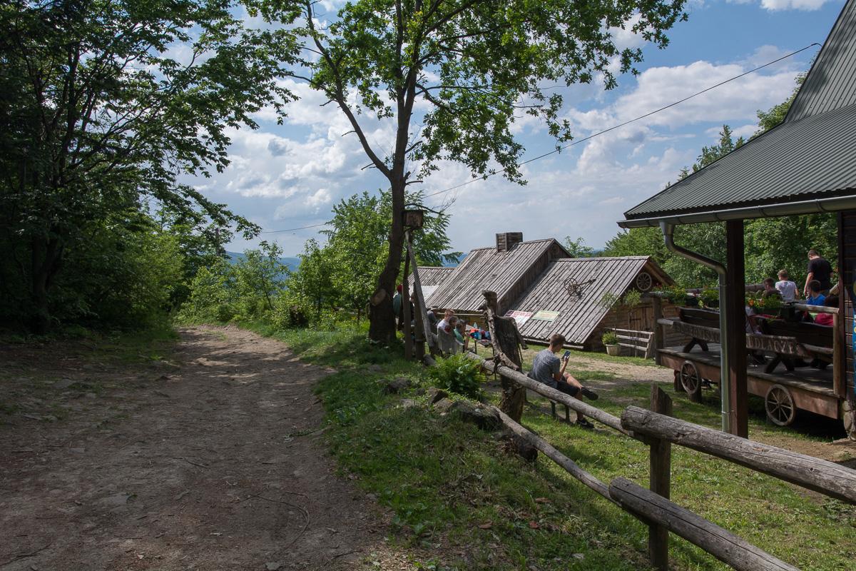 Lubomir, Korona Gór Polski, schronisko Kudłacze
