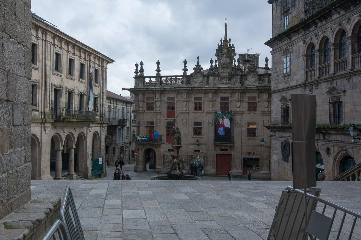 Santiago de Compostela, starówka
