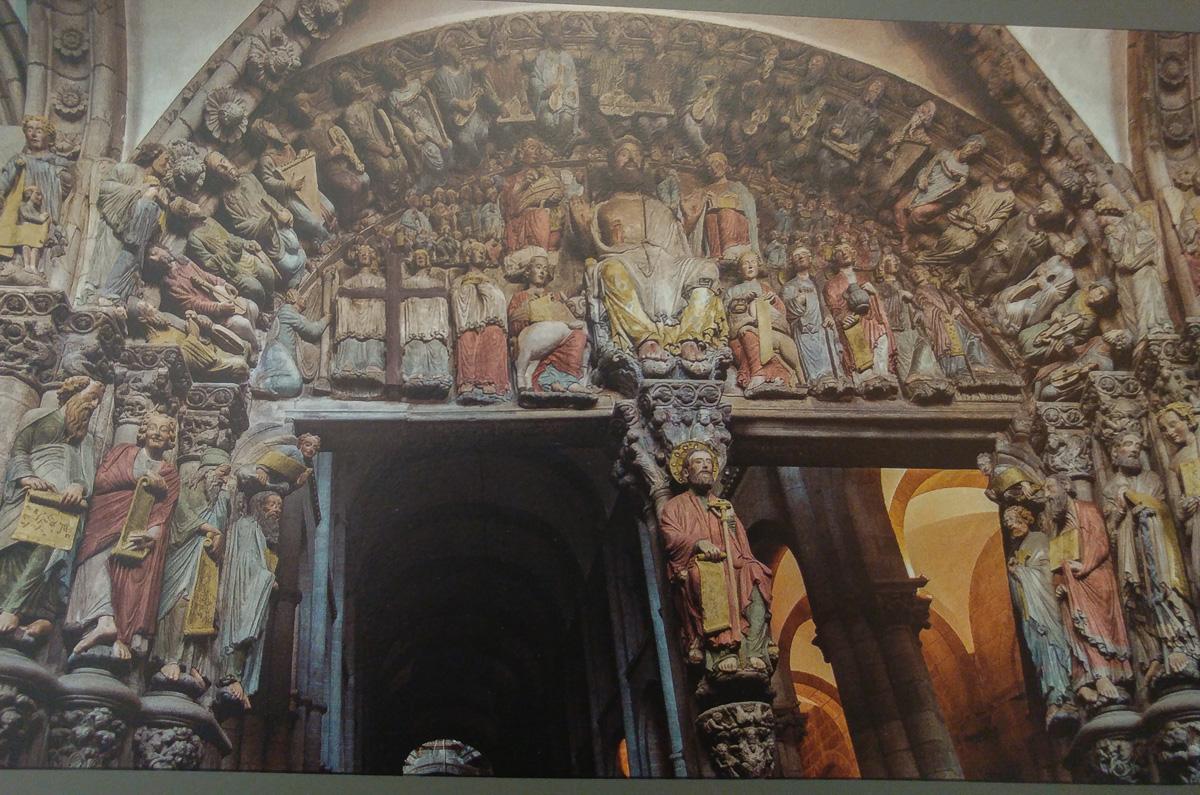 Katedra w Santiago de Compostela, Galicia, Hiszpania