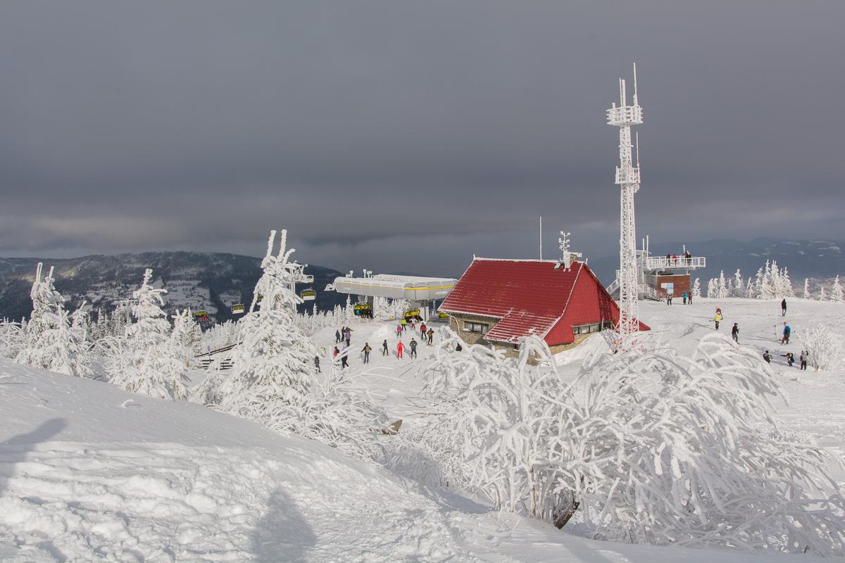 Skrzyczne i Korona Gór Polski – piechotą nie kolejką zimą i latem