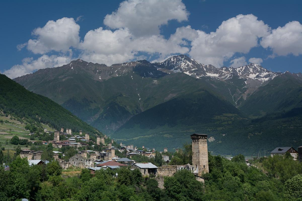 trekking Mestia - Uszguli, Swanetia, Gruzja góry,