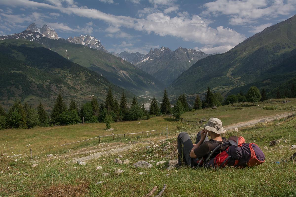 Swanetia – Szlakiem z Mestii, nie tylko do Uszguli, czyli pieśni o górach