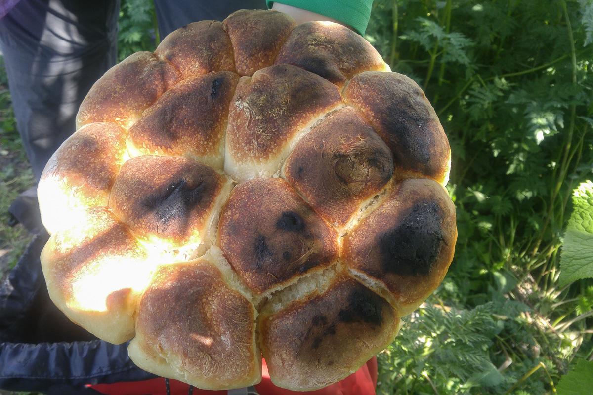 Swanetia, chleb
