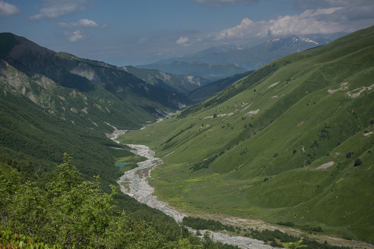 widok na dolinę Adiszi Swanecja