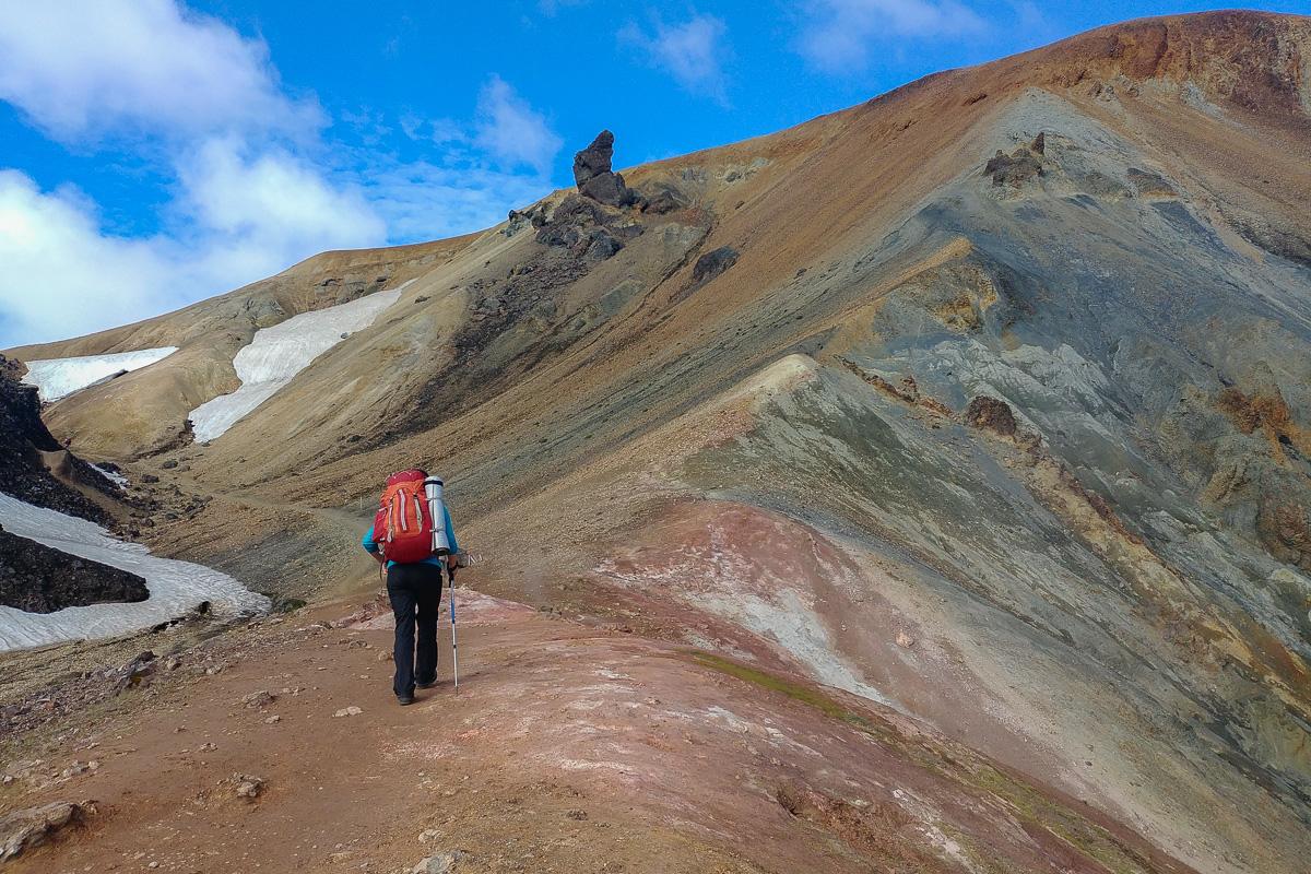 Landmannalaugar, Islandia, Brennisteinsalda