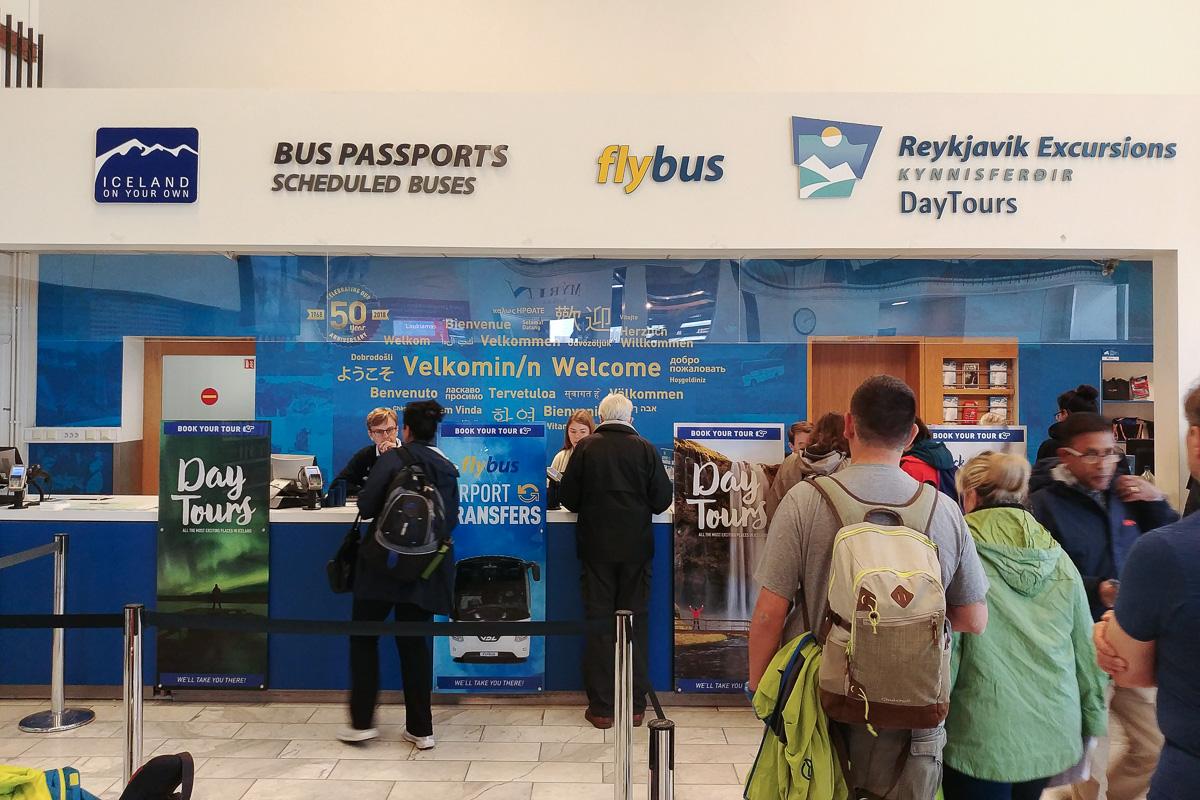 BSI terminal Reykjavik, Islandia
