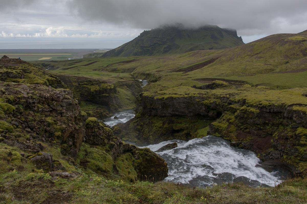 szlak Fimmvörðuháls, Porsmork - Skogar