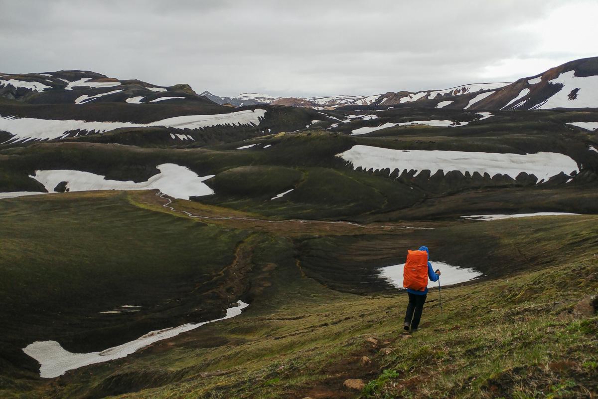 Hellismannaleid, Islandia, Fjallabak Nature Reserve, Landmannalaugar