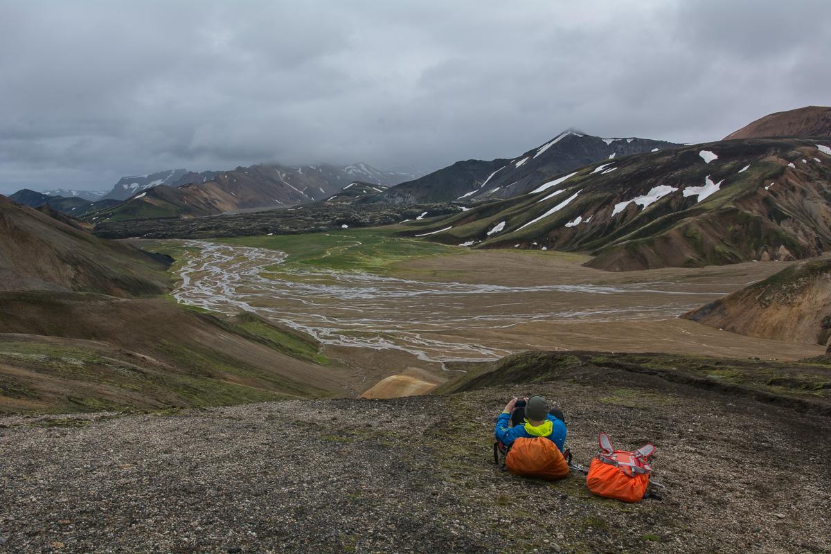 Hellismannaleid, Islandia, Fjallabak Nature Reserve, Landmannala