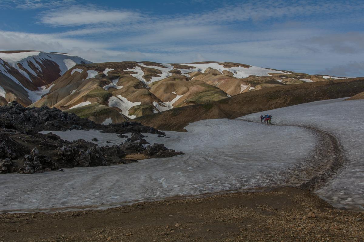 szlak Laugavegur, Landmannalaugar - Porsmork, Islandia